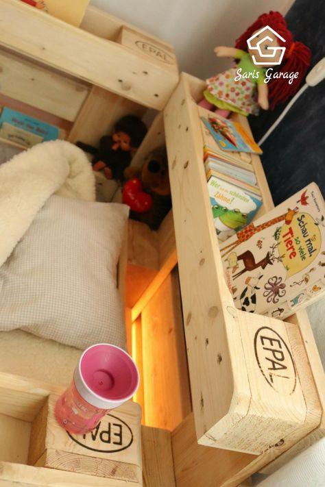ᐅ Palettenbett Fur Kinder Kinderbett Aus Europaletten Ay In