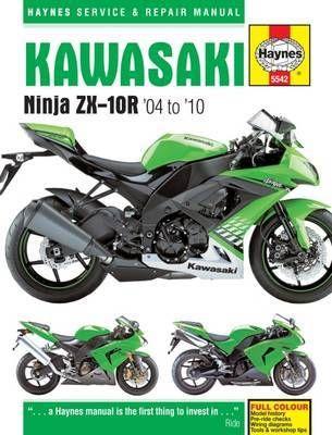 Kawasaki Ninja Zx 10r 04 10 Paperback Softback Matthew Coombs In 2020 Repair Manuals Kawasaki Kawasaki Ninja