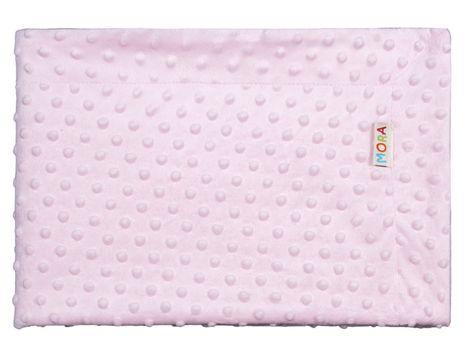 Manta De Bebé Estrellas Cuna Cochecito Niño Niña Regalo de algodón tejido Edredón Azul Rosa