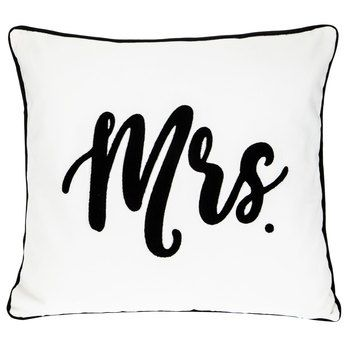 Mrs Pillow Decorative Pillows Pillows Quote Pillow Covers