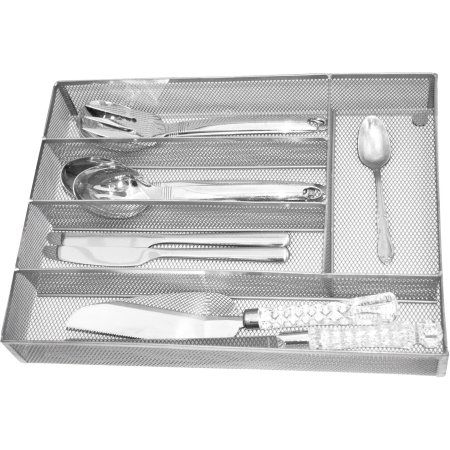 Home Tray Cutlery Steel Mesh