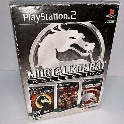 Mortal Kombat Kollection (Sony PlayStation 2, 2008) for sale online   eBay