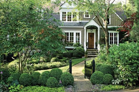 Nice curb appeal with the landscaping