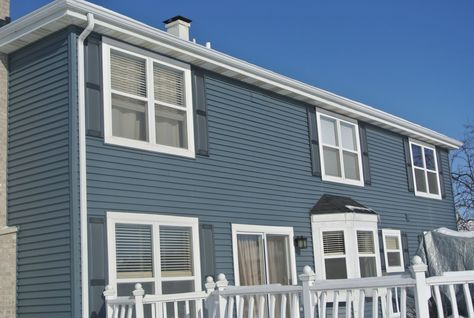 4 Inch Double Dutch Lap Vinyl Siding In 2020 With Images Vinyl Siding Blue Siding