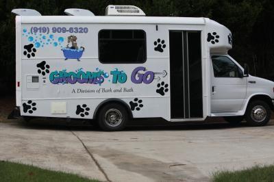 Grooms To Go Mobile Grooming Raleigh Nc Mobile Pet Grooming