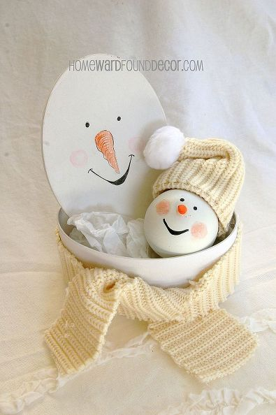 easy ornament makeovers, crafts, seasonal holiday decor, a precious handmade ornament like this is a great gift especially when you create a gift box that matches
