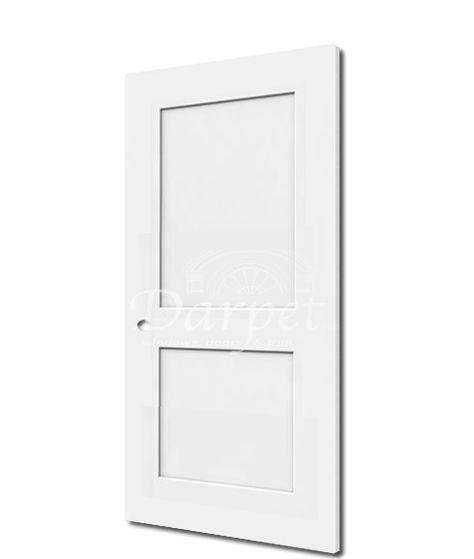 2 Panel Shaker 7 0 Door In Stock 2 Panel Flat Shaker Style Primed Interior Passage Door Available In 6 8 Solid Core Interior Doors Primed Doors Doors Interior
