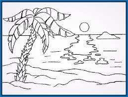 Dibujo Para Colorear Estrellas Sol Luna Con Imagenes Dibujo De