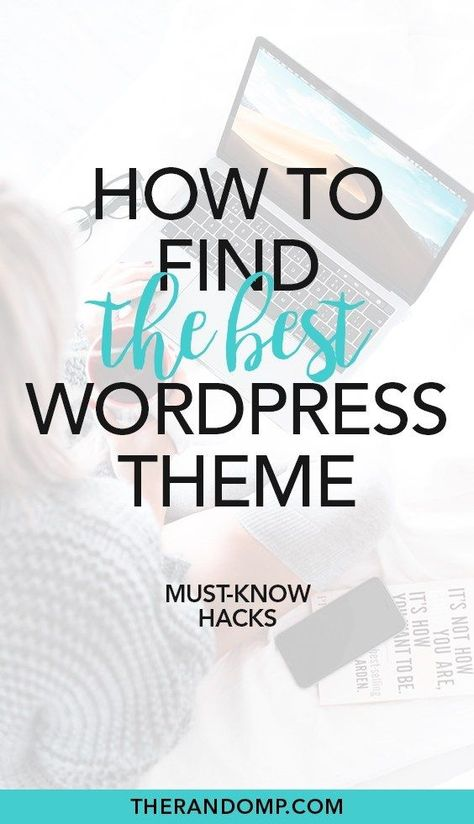 6 must-know hacks for choosing Wordpress theme for your blog