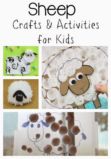 Still Playing School: Sheep Crafts and Activities for Kids