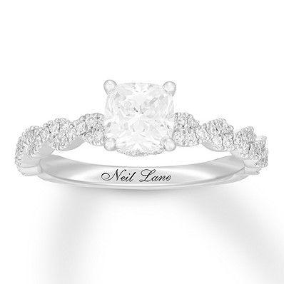Neil Lane Premiere Diamond Engagement Ring 1 1 5 Ct Tw 14k Gold Neil Lane Engagement Rings Diamond Engagement Rings Diamond Engagement