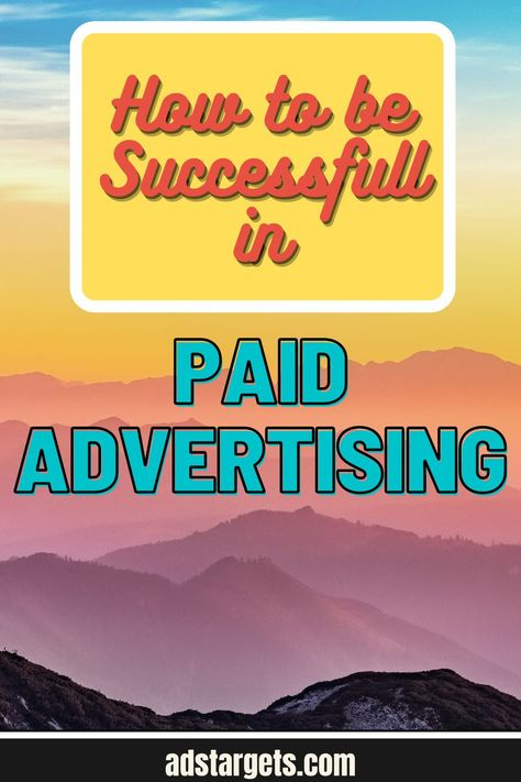 Paid Advertising Success