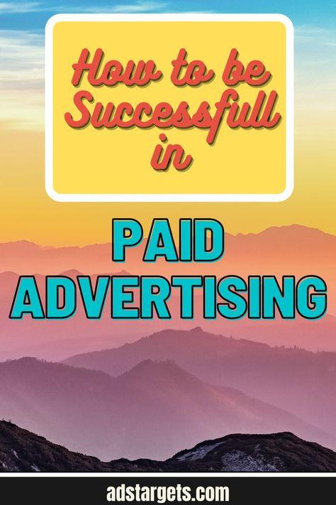 Paid Advertising Success