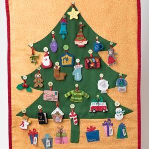 Christmas Advent Calendar Sewing Pattern Diy Felt Countdown Etsy Christmas Tree Advent Calendar Felt Advent Calendar Advent Calendar Pattern