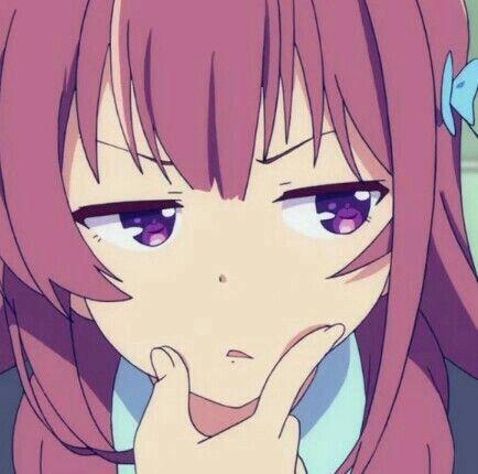 Anime Face Reaction Aesthetic Memes Meme Animemes Animeme Kawaii Funny Anime Anime Kawaii Desenhos De Anime