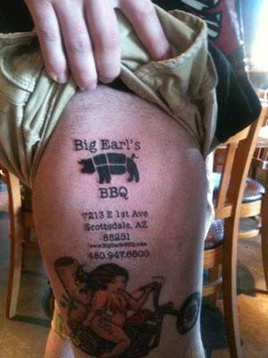 Big Earls has a BBQ fan - it's real!