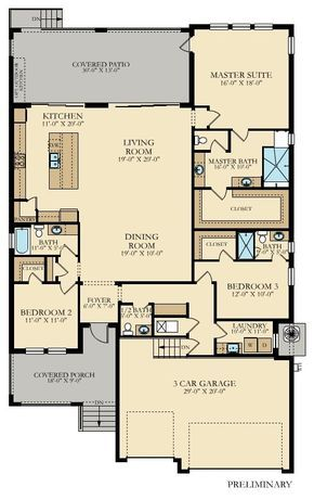 Captiva New Home Plan In Southshore Yacht Club Melrose Cove By Lennar New House Plans Floor Plans Ranch House Plans Yacht house floor plan