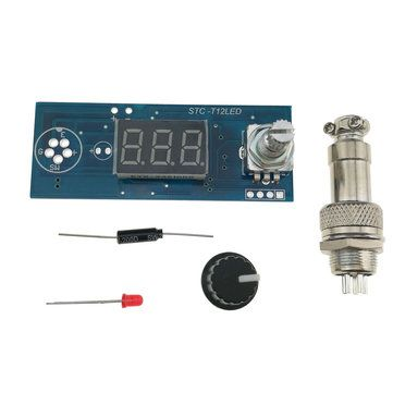 New Digital LED Soldering Iron Station Temperature Controller for HAKKO T12