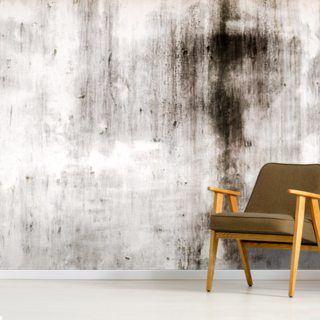 One Place Black Wallpaper Wallsauce Uk Living Room Design Decor Concrete Wallpaper Brick Wall Wallpaper