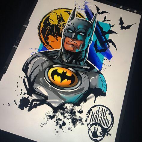 NEW OFFICIAL DC COMICS BATMAN BATS PENCIL SKETCH DRAWING WHITE T-SHIRT