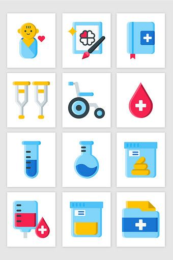 535410850 UI Paediatrics Blood Bag Wheelchair Color Small Icon Vector  Graphic pikbest graphic-elements