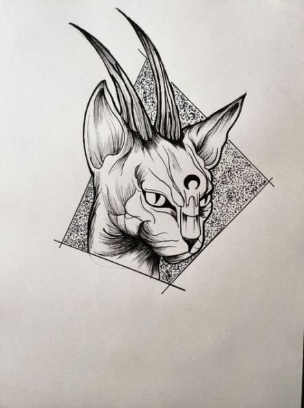 41 Best Ideas For Cats Design Tattoo Artworks Cat Tattoo Designs Sketch Tattoo Design Cat Tattoo