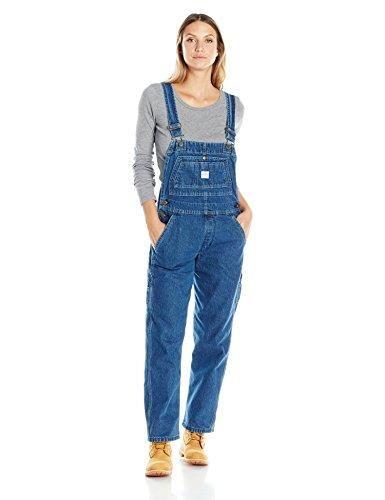 Key Apparel Women S Denim Bib Overall Overalls Women Flannel Lined Jeans