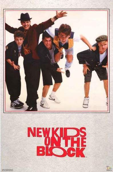 1st Album Covers # 33-8 x 10 Tee Shirt Iron On Transfer New Kids on the Block