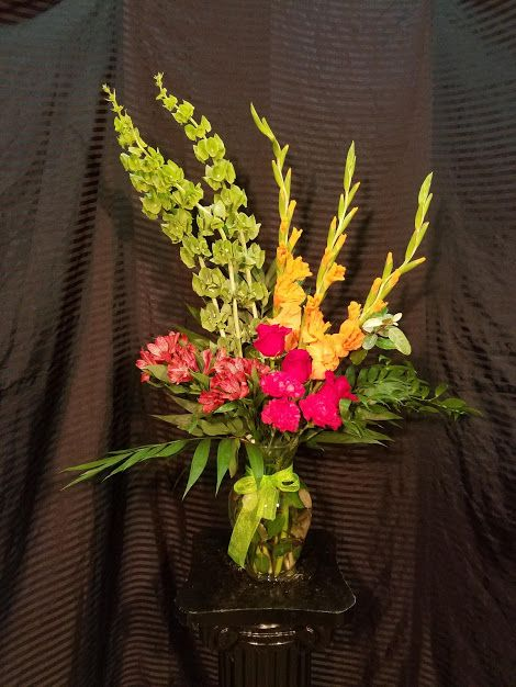 Days Of Sunshine Bouquet Flower Delivery Gladiolus Bouquet Flowers