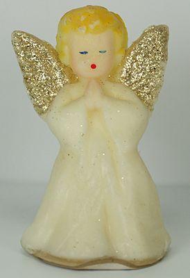 Vintage Gurley angel candle