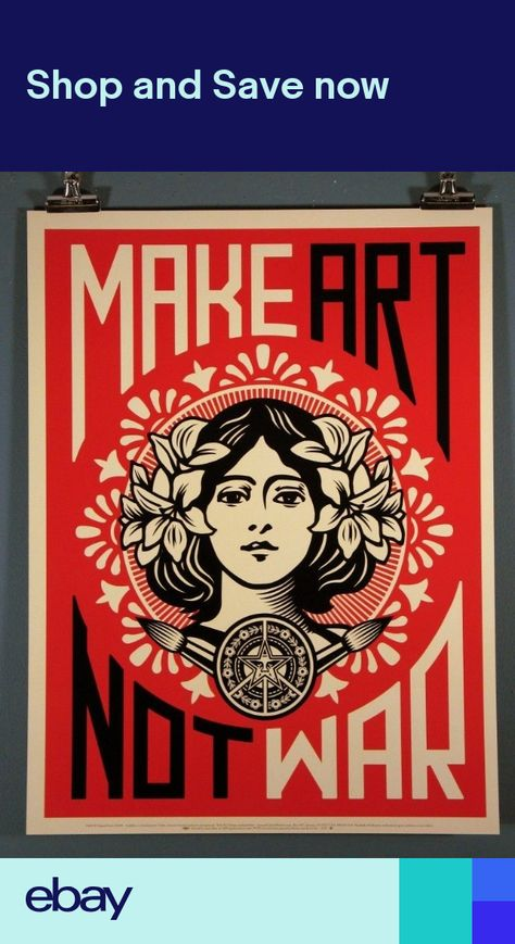 6e6e5546a09 List of Pinterest shepard fairey poster images   shepard fairey ...