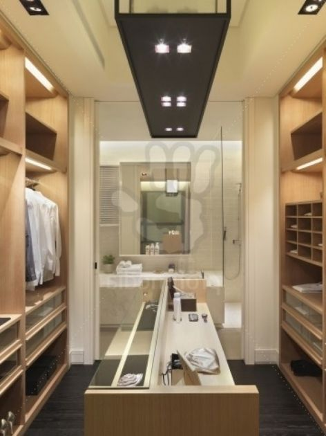 Remarkable Bathroom And Walk In Closet Designs Walk Through