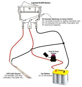 On Off Switch Led Rocker Switch Wiring Diagrams Oznium Boat Wiring Automotive Repair Trailer Wiring Diagram