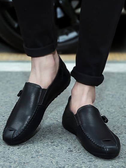 462d511529dcf Natty Black Loafers | Only on jashvitech.wooplr.com | Best Loafers and slip  ons Online. Find this Pin and more on Men's Shoes ...