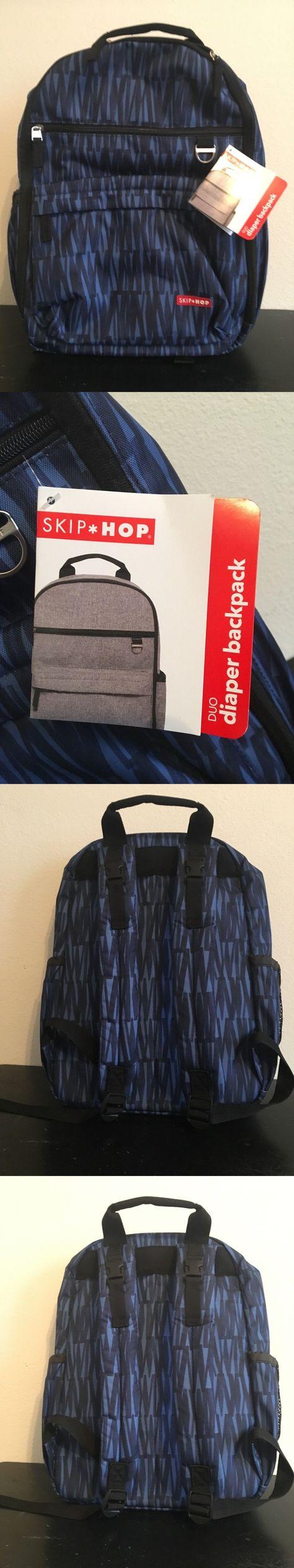 91936f63b8d Diaper Bags 146530  Skip Hop Duo Diaper Back Pack (Blue Graffiti) -  BUY IT  NOW ONLY   42 on eBay!