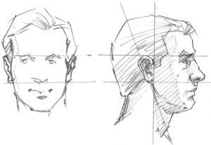 How To Draw Faces Drawing The Ears Flarf Tech Media In 2020 Face Drawing Human Face Drawing Planes Of The Face