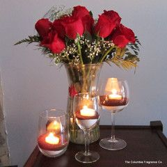 Decorating With Candles   The Columbia Fragrance Co.