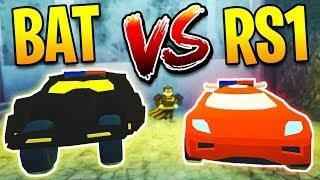 BATMOBILE VS TORPEDO SPEED TEST! New FASTEST CAR in Jailbreak