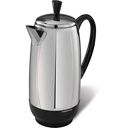 Farberware 12 Cup Electric Percolator Review Stainless Steel Coffee Maker Percolator Coffee Stainless Steel Coffee