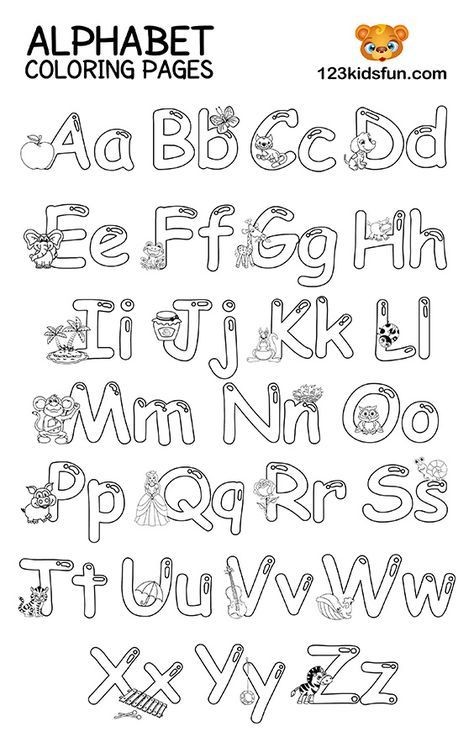 Free Printable Alphabet Coloring Pages For Kids 123 Kids Fun Apps Abc Coloring Pages Alphabet Coloring Pages Coloring Worksheets For Kindergarten