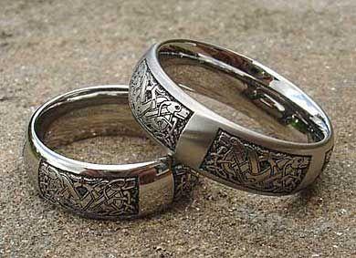 Celtic Titanium Rings Celtic Wedding Rings Gothic Engagement Ring Rings For Men