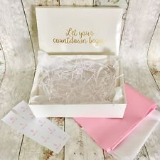 Wedding Countdown Gift Box Bride To Be Special Hamper 10 Day Advent Calendar Ebay Countdown Gifts Wedding Countdown Bride Gifts