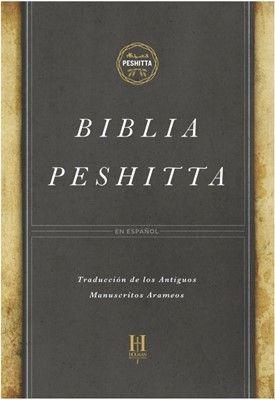 Biblia Peshitta Pasta Imitacion De Piel Color Negra Biblia Pdf