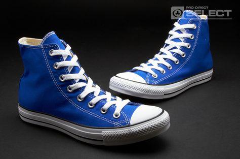 4fbc8320a8ba Converse Shoes - Chuck Taylor All Star - Hi-cut - Mens Shoes - Dazzling Blue