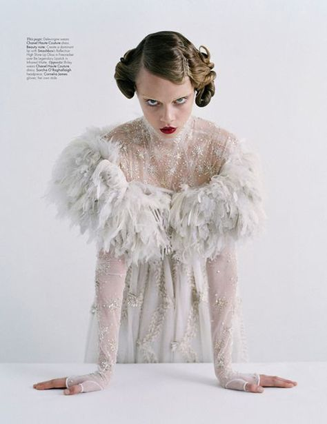 Coutures Outre Attitude by Tim Walker for W Mag April 2013   Trendland: Fashion Blog & Trend Magazine