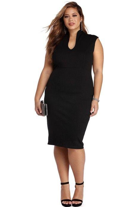 Plus Classic Midi Dress Classic Midi Dress Midi Dress Plus Size Evening Dresses Plus Size