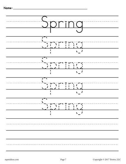 10 Seasons And Holidays Handwriting Worksheets Handwriting Practice Handwriting Worksheets Handwriting Analysis First grade handwriting worksheets