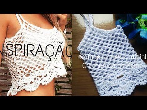 860 Crochet Blusas Video En 2021 Ganchillo Blusas Croché Ganchillo