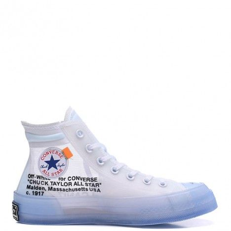 Off-White x Converse The Ten Chuck Taylor 70s Transparent ...