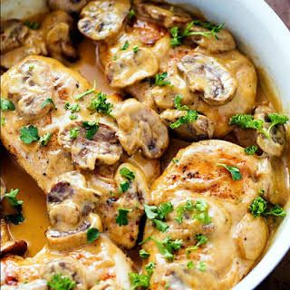 Creamy Chicken Marsala Recipe In 2020 Italian Recipes Italian